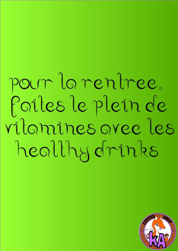 Une rentree Healthy